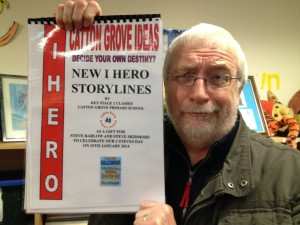 Catton Grove students produced some great iHero stories for us!