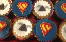 Superhero and viking cupcakes!