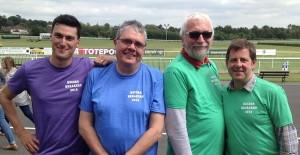 Joe Craig, Dave Harmer and us!