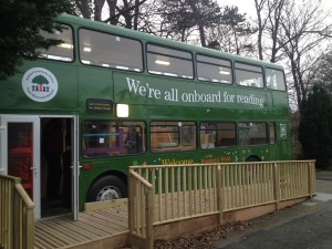 The Bodnant Library Bus