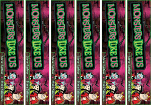 Monsters Like Us Generic Bookmark 6UP