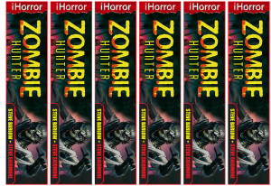 Zombie Hunter Bookmark 6UP