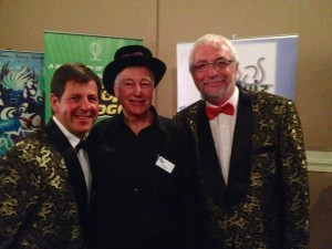 With Wayne Mills (dontcha just love our jackets?!)