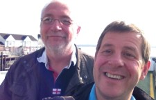 A selfie on the Isle of Wight Ferry!