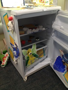 A Fridge with Monsters!