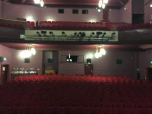 The theatre at Hunstanton, before the students came in!
